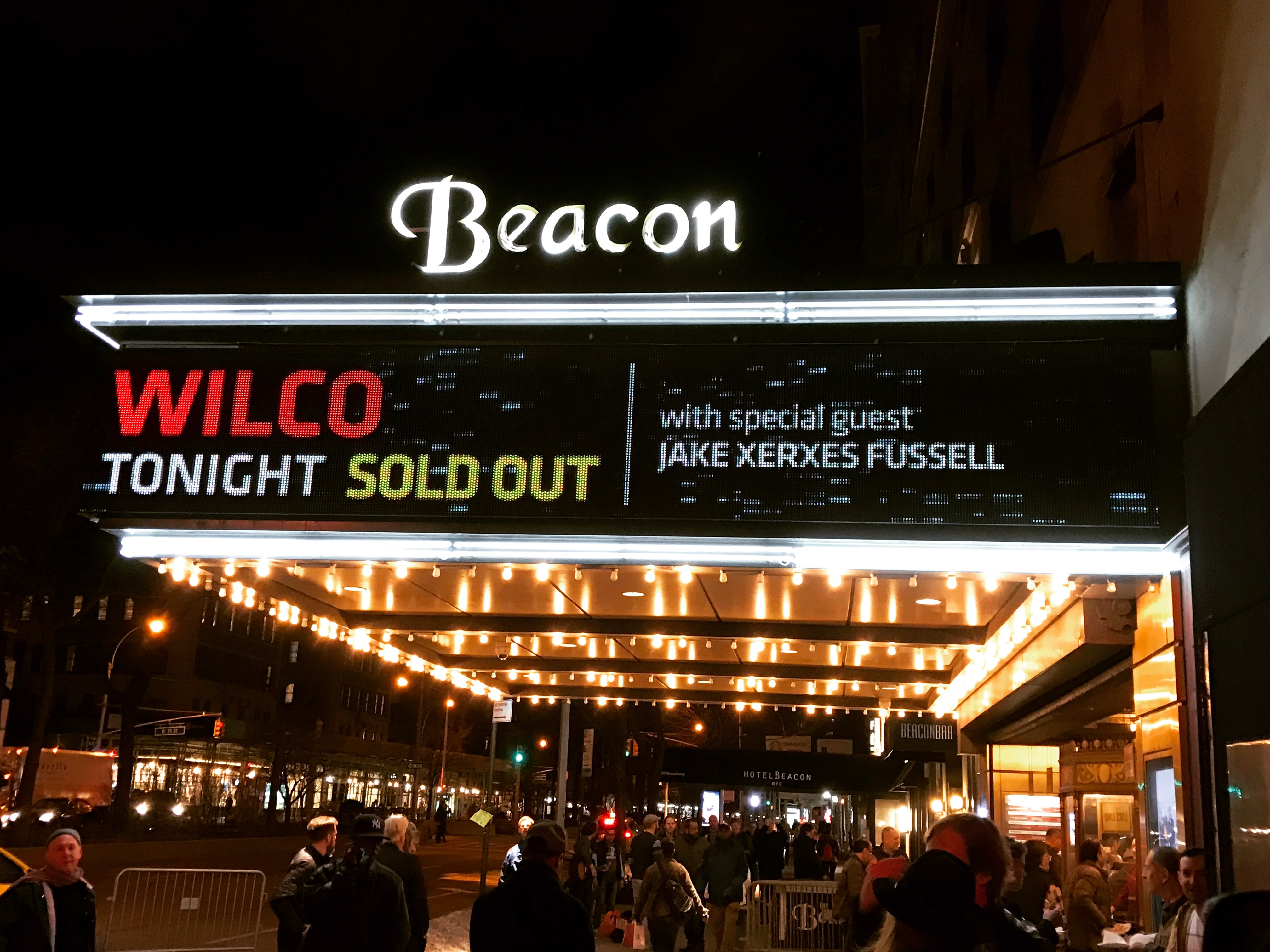 Wilco @ The Beacon Theatre, 3/21/17
